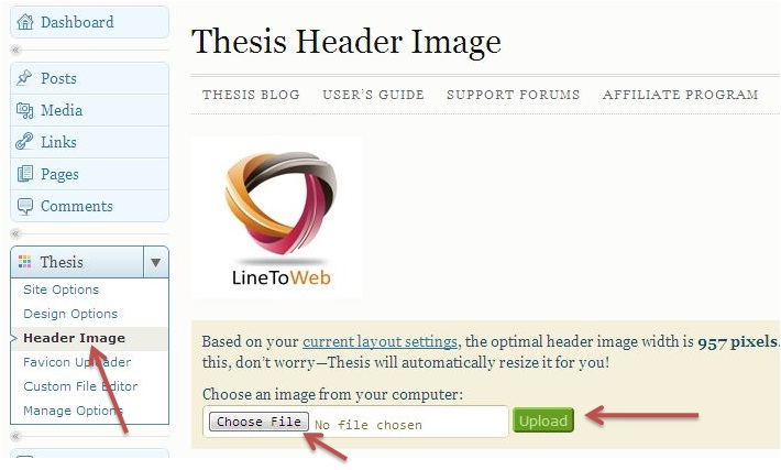 add logo to thesis theme Clickable logo in header in add a search bar to the thesis  thesis searchbox tip — how to manually add the thesis thesis wordpress theme simplifies the task of.