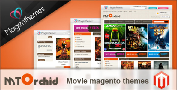MT Orchid Movie Premium Magento Theme For eCommerce Website