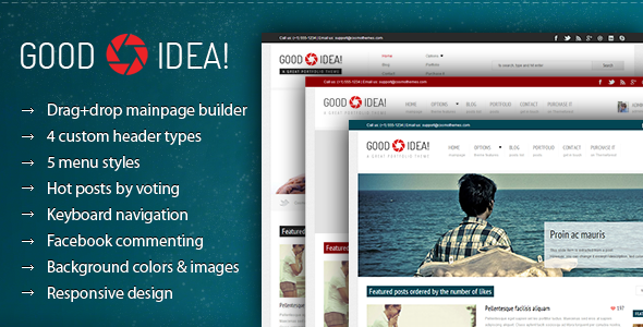 Good Idea Portfolio Premium WordPress Theme Review