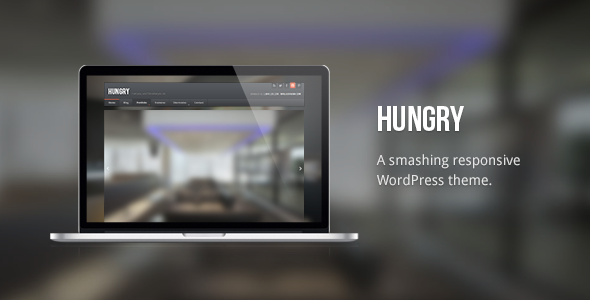 Hungry Responsive Premium WordPress Theme Handsome
