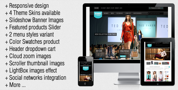 Dramming Responsive Premium Magento Theme Review