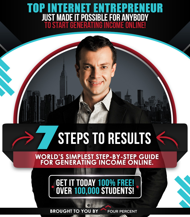 7 steps to results four percent vick strizheus