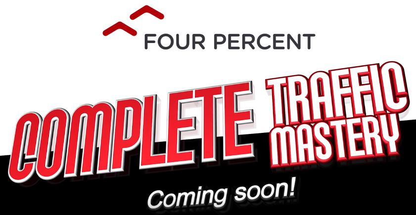 complete traffic mastery four percent