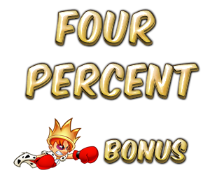 four percent bonus