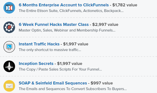 clickfunnels discount offer pricing
