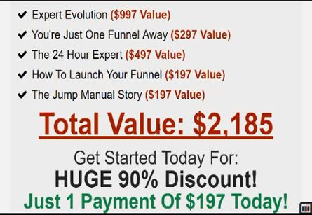 expert evolution traning price by russell brunson